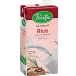 Pacific Natural Foods, Organic Vanilla Rice Milk