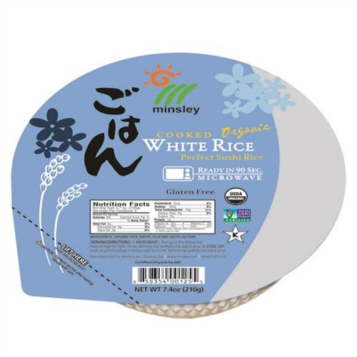 Minsley Whole Grain, White Rice