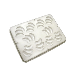 Peach Slice Cluster Puree Mold