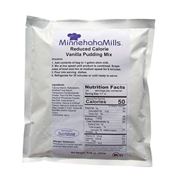 Minnehaha Mills Vanilla Pudding Mix