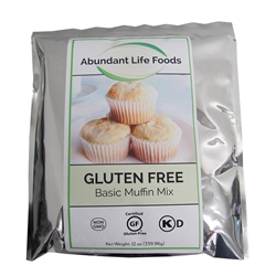 ALF Basic Vanilla Muffin Mix Gluten Free