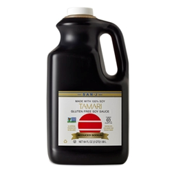 San J Tamari Sauce, Reduced Sodium
