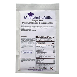 Minnehaha Mills Pink Lemonade Mix