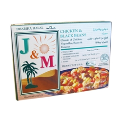 J&M® Chicken & Black Beans