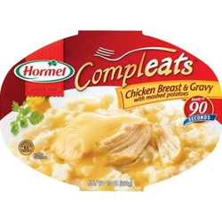 Hormel Chicken and Mashed Potatoes