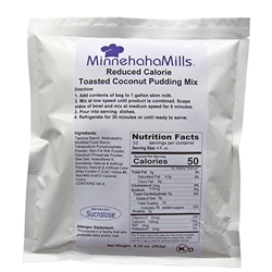 Minnehaha Mills Coconut Pudding Mix