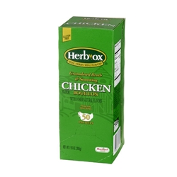 HerbOx ® Instant Broth - Chicken Flavor 6 / 50 Pkt